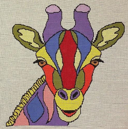 ASIT 278 Colorful Giraffe