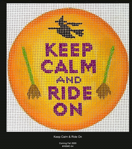 Kate Dickerson Keep Calm and Ride On
