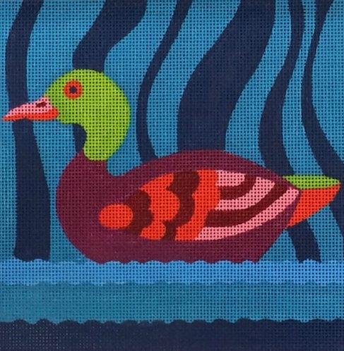 Mandarin Duck 18 mesh