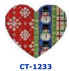 AT CT-1233 Flakes/Snowmen/Tattersall Heart