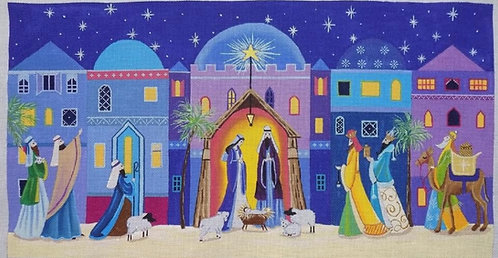 Love You More Nativity 18 mesh