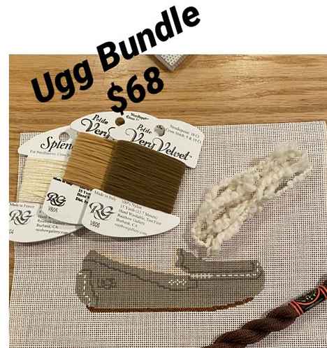 Grab and Go Ugg Bundle - Brown Threads