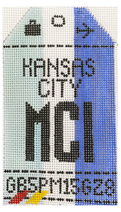 HedgeHog MCI Kansas City Travel Tag