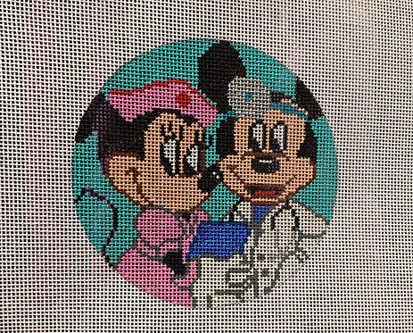 TEW Minnie and Mickey Mouse 18 mesh