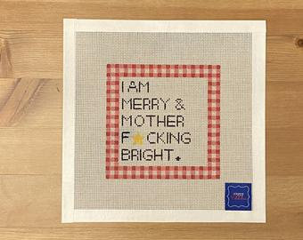 Ziggy Stitches I Am Merry & Mother...