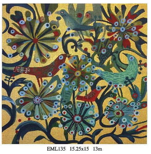 Melissa Shirley EML135 Birds & Flowers