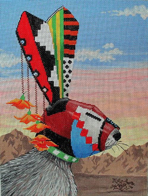 Tapestry Fair TC11 Jack Rabbit Spirit Animal
