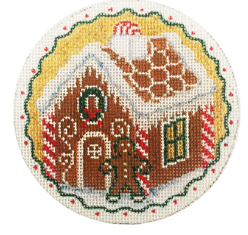 x320 Gingerbread House Ornament