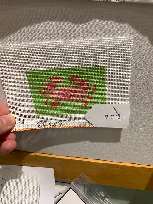 Crab insert for credit card