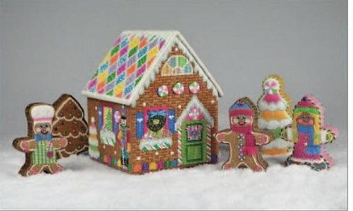 Pepperberry H3D01 3D Gingerbread House