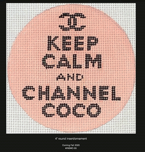Kate Dickerson Keep Calm and Channel Coco