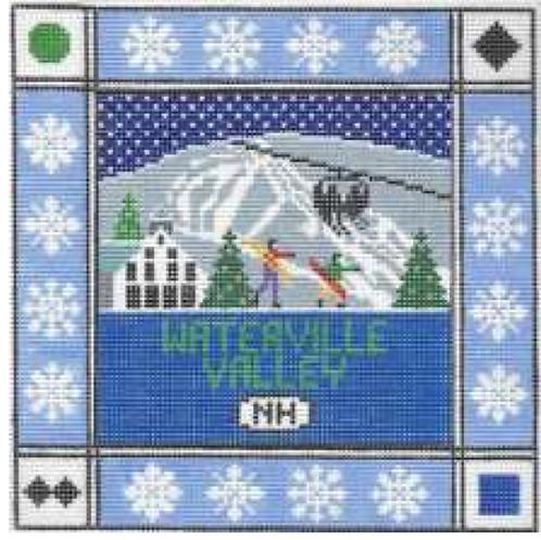 Doolittle Ski Squares 13 mesh Waterville Valley