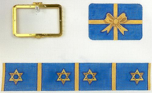 BXMREC-05 Med. Rectangle Box - Hanukkah