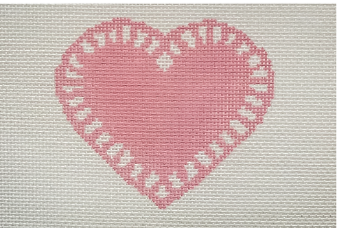 Mopsey Designs MD-10.03 Love Doily (Light Pink)