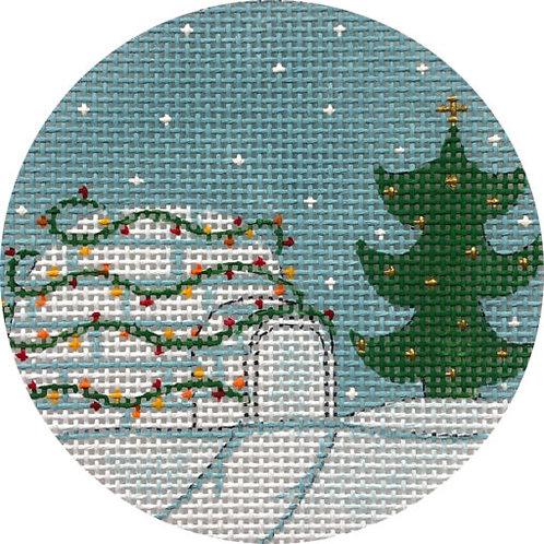 Christmas Igloo Alice Peterson X404
