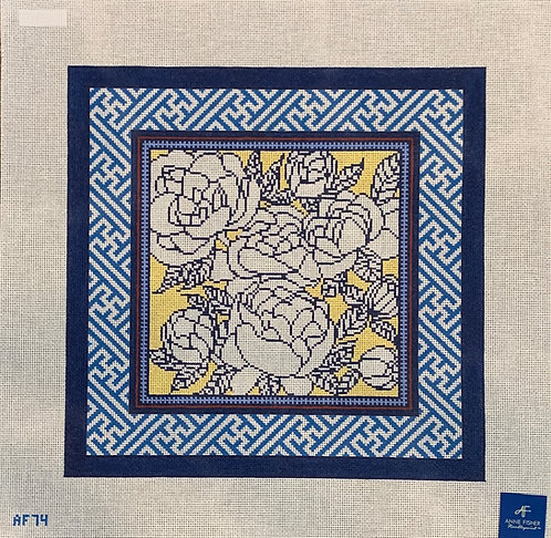 Anne Fisher AF74 Color Me Peony Pillow