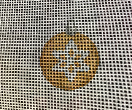 """Associated Talents Gold Snowflake Ball 2.25"""" Round"""