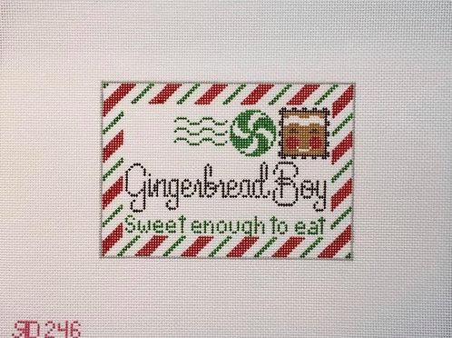 Rachel Donley RD246 Gingerbread Boy 18 mesh