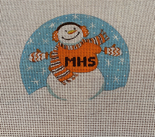Mamaroneck High School Snowman