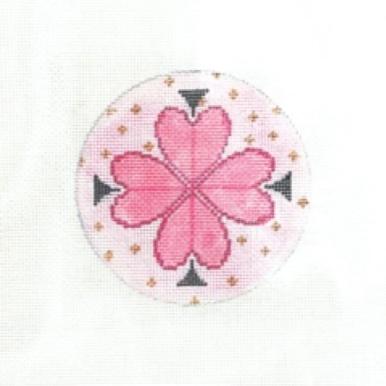 SG Designs Clover Flower Spade Round