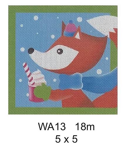 """Pepperberry Designs WA13 5"""" Square"""