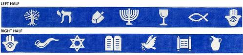 Kate Dickerson BL-89 Judaic Symbol Belt/Tray