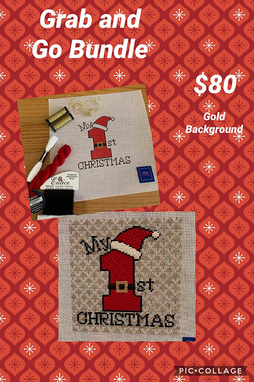 Grab and Go My First Christmas Bundle w/ Stitch Suggestions