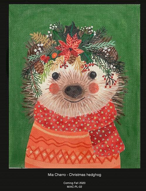 Kate Dickerson Christmas Hedgehog