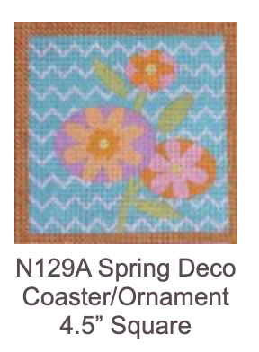 """Eye Candy N129A Spring Deco 4.5"""" Square"""