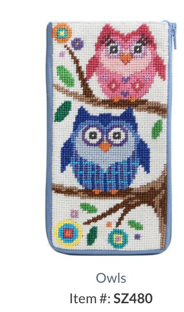 SZ480 Owla Eyeglass Case