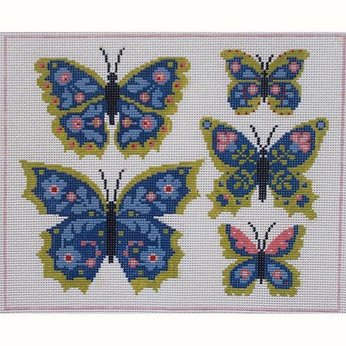 Abigail Cecile AC117 Five Butterflies