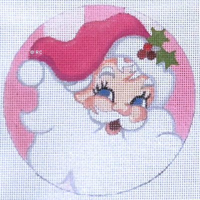Raymond Crawford HO2072 Santa Pink Background