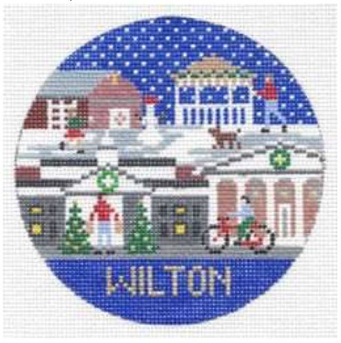 Doolittle Destination Rounds 18 mesh Wilton