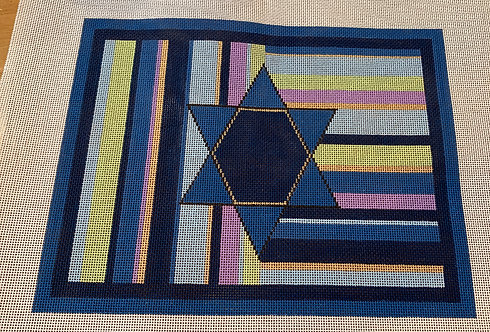 Sew Much Fun Blue Star on Stripes - Michael