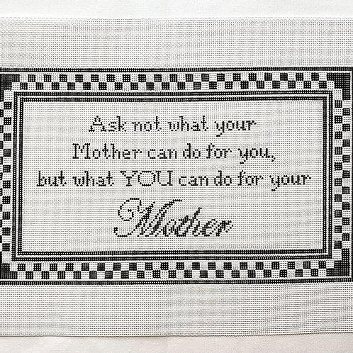 Lauren Bloch Ask Not What Your Mother....13 mesh