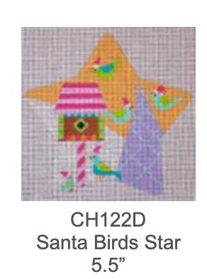 Eye Candy CH122D Santa Birds Star