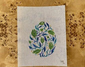 Marianne Lynn Designs Tulip Blue Egg