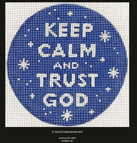 Kate Dickerson Keep Calm and Trust God