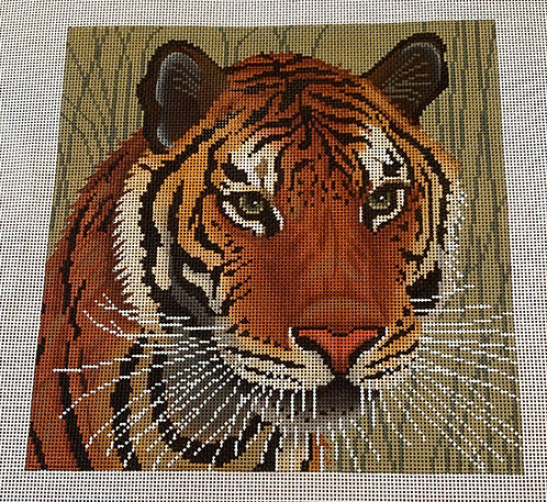 JP Needlepoint A108 Tiger