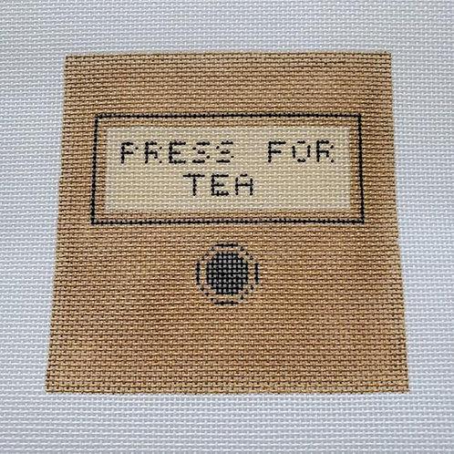 Silver Stitch Needlepoint Press for Coffee
