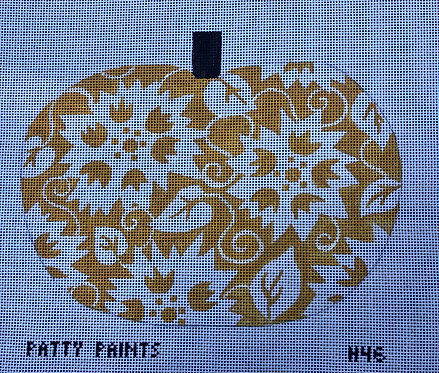 Patty Paints H46 Sunflowers Pumpkin18 mesh