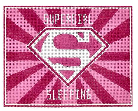 AP3747 Supergirl Superhero Sleeping