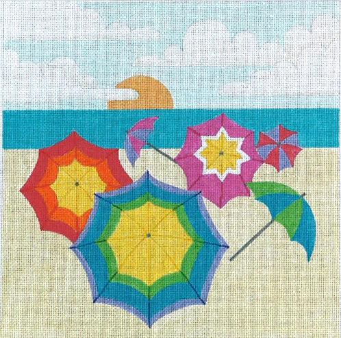 Colorful Umbrellas - 13 mesh