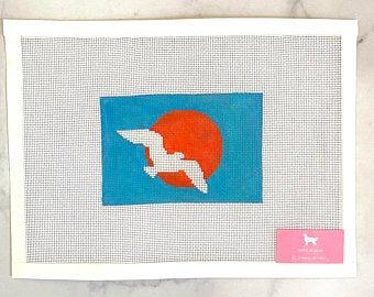 Poppy's Needlepoint Martha's Vineyard Flag