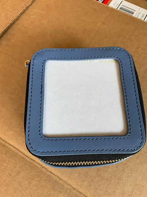 Pewter blue square case