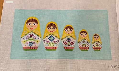 KB 1576 Russian Doll Pillow