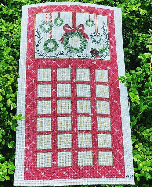 SCT Advent Calendar with Single Xmas Tree Ornament