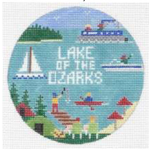 Doolittle Destination Rounds 18 mesh Lake of the Ozarks