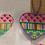 Thumbnail: AT HE807 Hearts/Stripes/Plaid  Heart