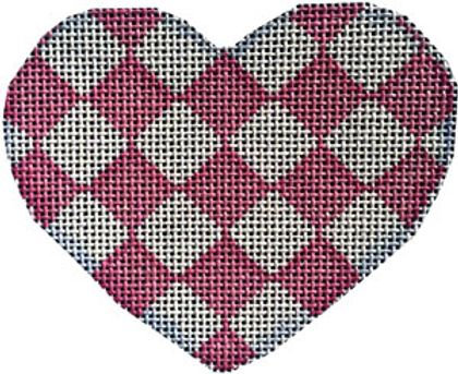 AT HE845 P Harlequin Heart